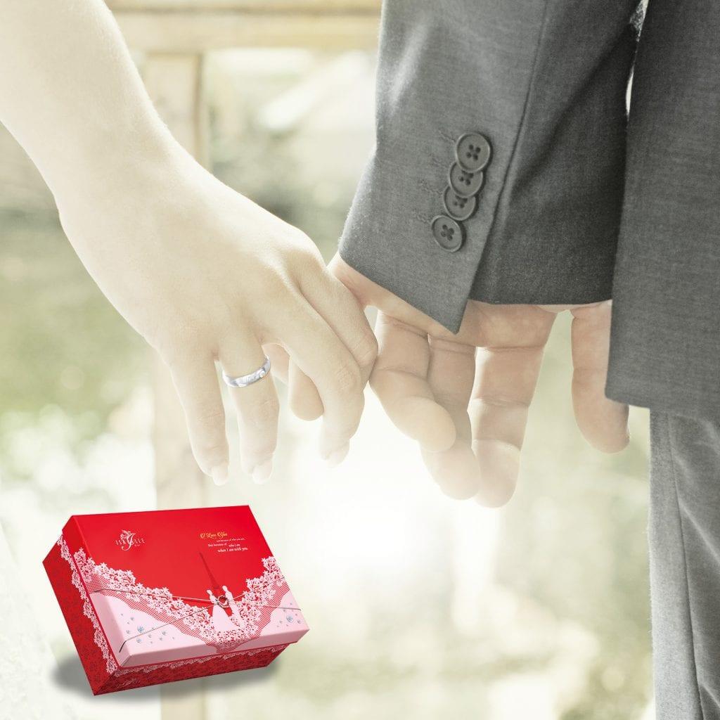 國際智家.伊莎貝爾喜餅.蕾絲婚戒.包裝設計002