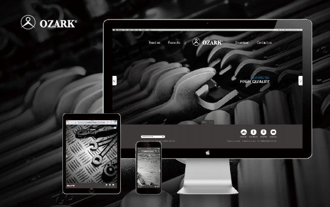 國際智家 OZARK 網站設計